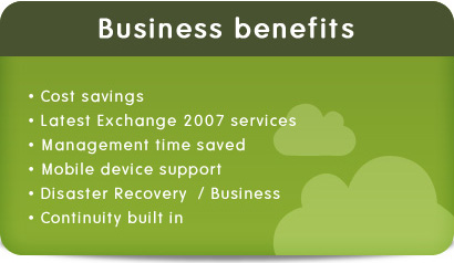 Business Benefits - Hosting Exchange Services
